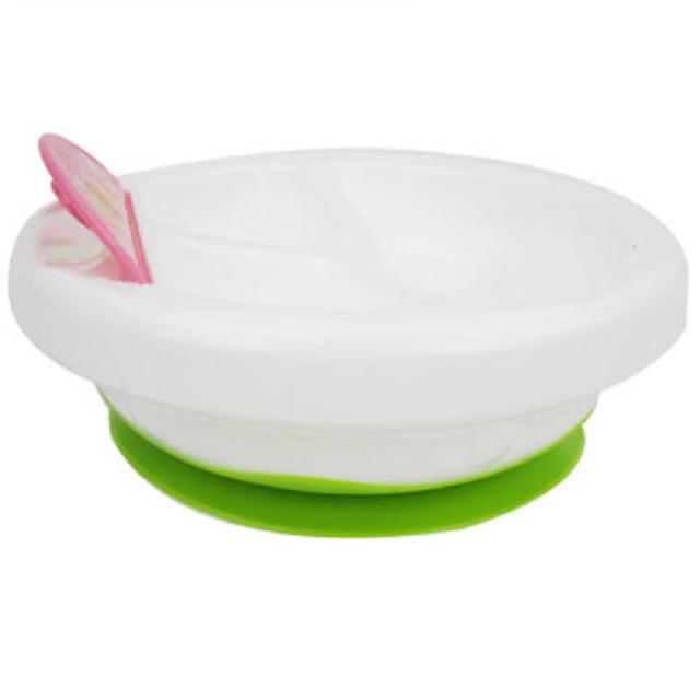 Дети Посуда Ребенок Теплоизоляция Стены Всасывания Чаша Сепаратор Кормление Ребенка Блюда