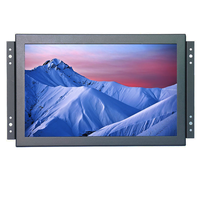 Full viewing angle 1920 1200 HD metal case open frame capacitive touch screen monitor