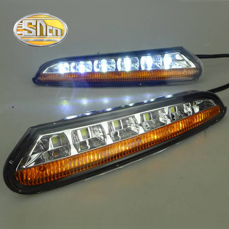 цена на SNCN LED Daytime Running Light For Opel Mokka 2012 2013 2014 2015,Car Accessories Waterproof ABS 12V DRL Fog Lamp Decoration