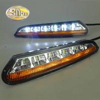 SNCN LED Daytime Running Light For Opel Mokka 2012 2013 2014 2015 Car Accessories Waterproof ABS