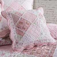CHAUSUB Creative Decorate Cushion 1 piece Washable Cotton Quilted Hold Pillow Car Sofa Cushion + Core Size 45*45cm