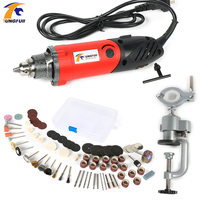 Tungfull Mini Electric Drill Dremel Tools Polishing Engraver Tool Jewellery 6 Position Variable Speed Dremel Style