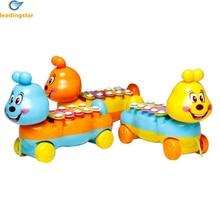 LeadingStar Cartoon Caterpillar Toy Pian