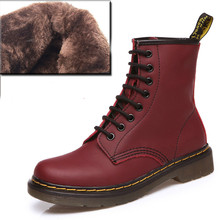 British Style Genuine Leather Winter Warm Men Boots Comfortable Winter Boots High Quality Leather Boots Men Zapatillas Hombre