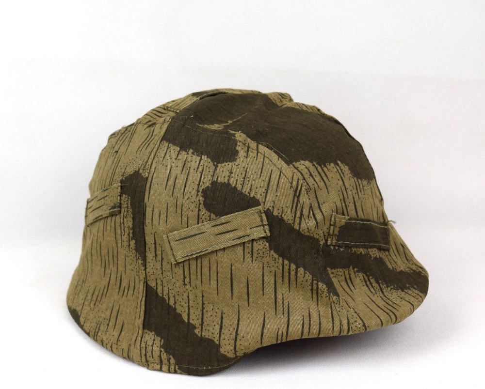 Amicable Ww2 Wwii German Army Helmet Cover A Camo White Cover War Military Reversible