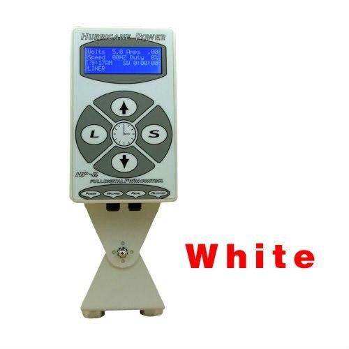 Hot sale ETP-19 White Hurricane Digital DUAL HP-2 Tattoo Power Supply free shipping hot sale cayler