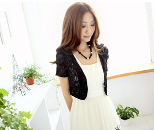 thin sweater shrugs women sweater cardigan short Fashion girls ...