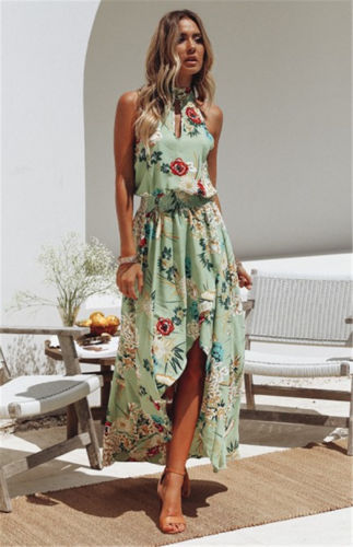 5fead02cee681 US $8.47 19% OFF|UK Women Long Maxi Dress Prom Evening Party Summer Beach  Boho Holiday Dresses-in Dresses from Women's Clothing on Aliexpress.com |  ...