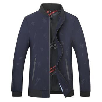 Men's Coat Thin Spring Autumn 2019 New Korean Version Of The Trend Autumn Casual Repair Handsome Large Size Men's Jacket 8xl 7xl