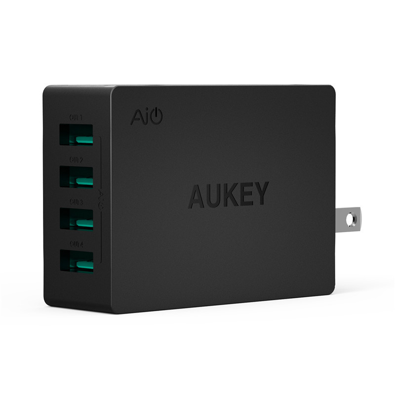 Aukey multi ports usb charging station wall charger 30w 4 - Multi chargeur usb ...