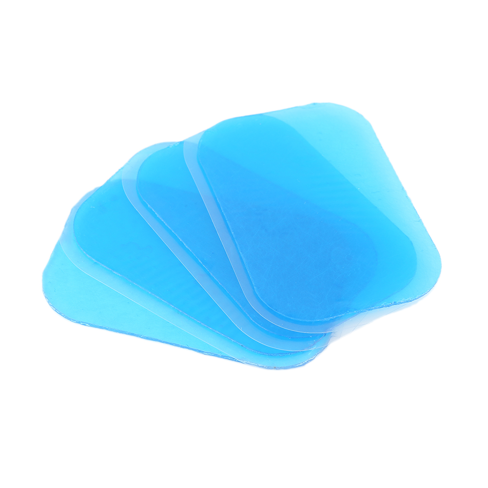 2pcs Abdominal Massager Hydrogel Gel Stickers Patch Pads Replecament Silicone For Wireless Smart EMS Muscles Training Tool