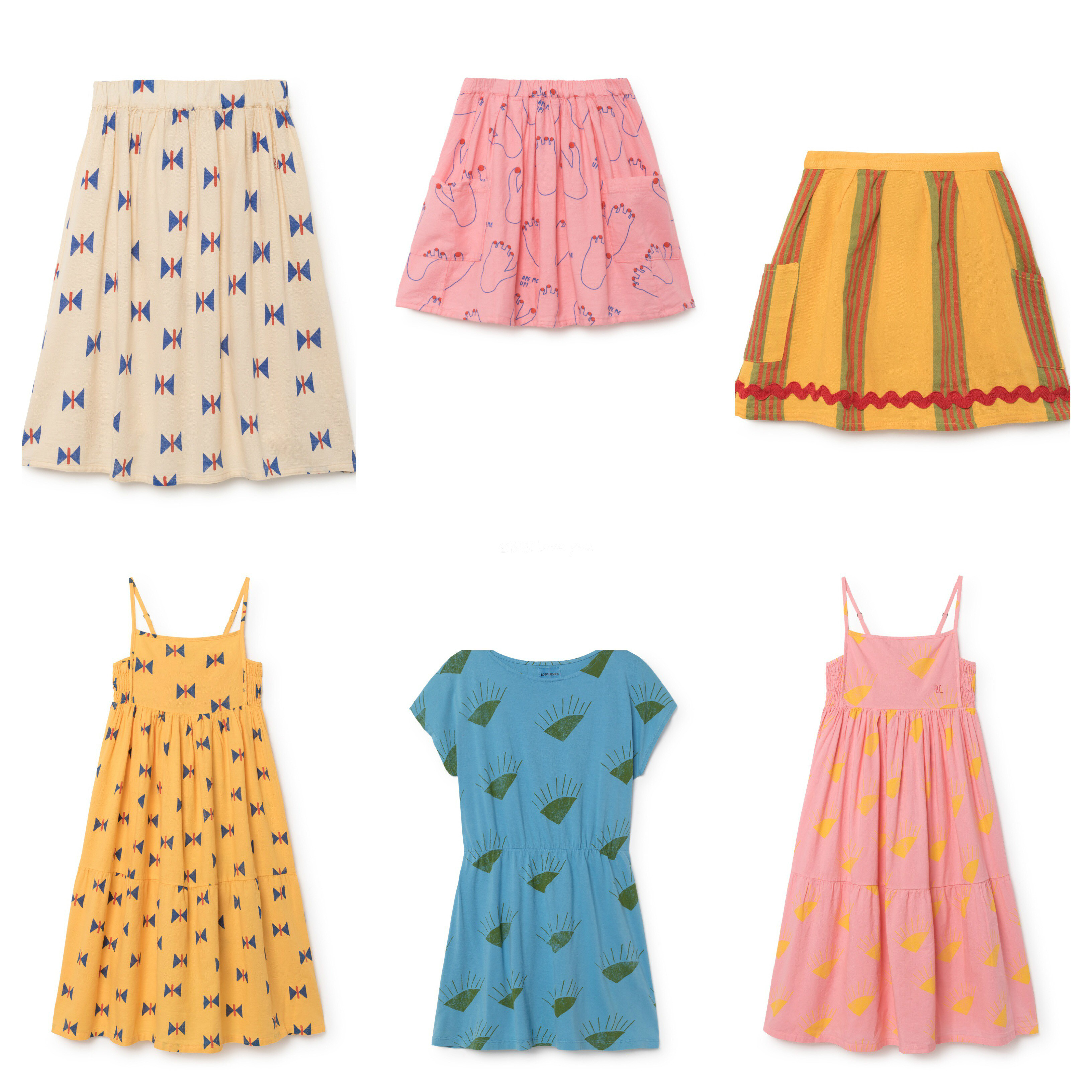 Girls Dresses For Summer Girls Cotton Jane Print Baby Girl Princess