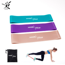 Fitness Gum Resistance Loop Bands Expander Elastic for Exercise Equipment Workout Training booties Gym