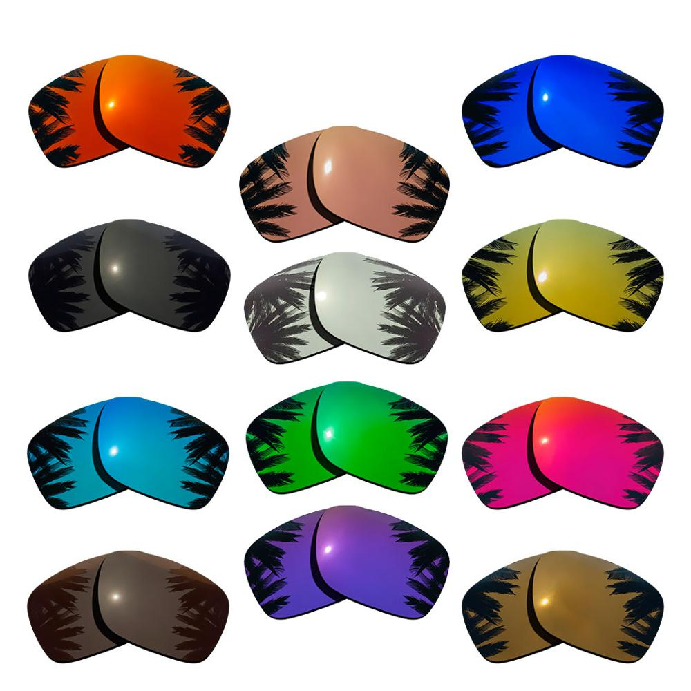 Polarized Mirrored Coating Replacement Lenses for-Oakley Holbrook Frame Multi-Colors