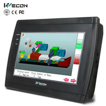Wecon 7 inch three RS232/RS485/RS422 ports supported hmi LEVI-700E