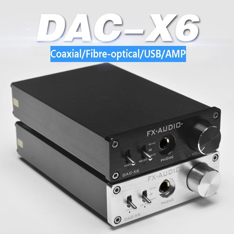 Gratis verzending Audio DAC-X6 Fever HiFi AMP USB Fiber Coax Digitale - Draagbare audio en video - Foto 2