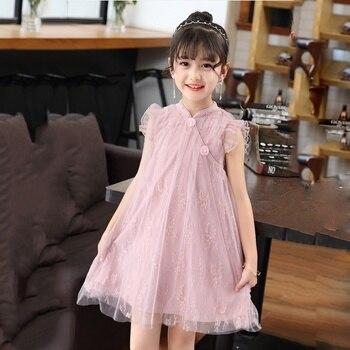 Nuevo Vestido De Princesa Para Niñas Vestido De Encaje Para