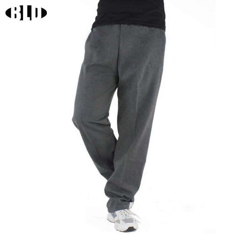 Prix pour Solide Hommes de Course pantalon coton mallas lâche respirant la sueur pantalon Grande taille sport basket-ball de Formation jogger pantalon plus la taille