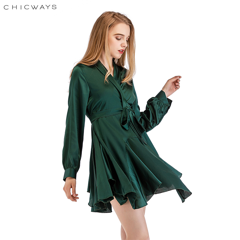 Top 10 V Neckline Dress Satine Brands And Get Free Shipping Fc28ad9a