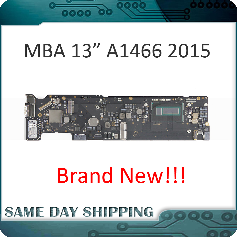 NEW!!! 2015 for MacBook Air 13 A1466 1.6GHz Core i5 4GB or 8GB Logic Board Motherboard Mainboard 820-00165-02 EMC 2925 hsw rechargeable battery for apple for macbook air core i5 1 6 13 a1369 mid 2011 a1405 a1466 2012