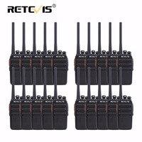 20 штук PMR рации Retevis rt24 0.5 Вт UHF 446 мГц PMR446 скремблер VOX Портативный двухстороннее HF Радио Оборудование связи