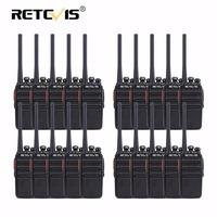 20pcs PMR Walkie Talkies Retevis RT24 0.5W UHF 446 MHz PMR446 Scrambler VOX Portable Two Way Hf Radio Communication Equipments