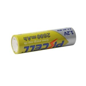 Image 4 - 4 adet/kart PKCELL AA piller 1.2 V NI MH 2600mAh 2A NIMH 1.2 Volt AA şarj edilebilir pil Baterias Bateria piller