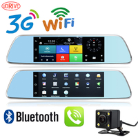 Udrive 7 Car DVR Rearview Mirror Android 5 0 3G Network Video Recorder GPS Navigation Dual