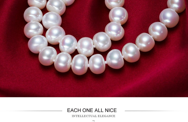 natural pearl necklace  (2)