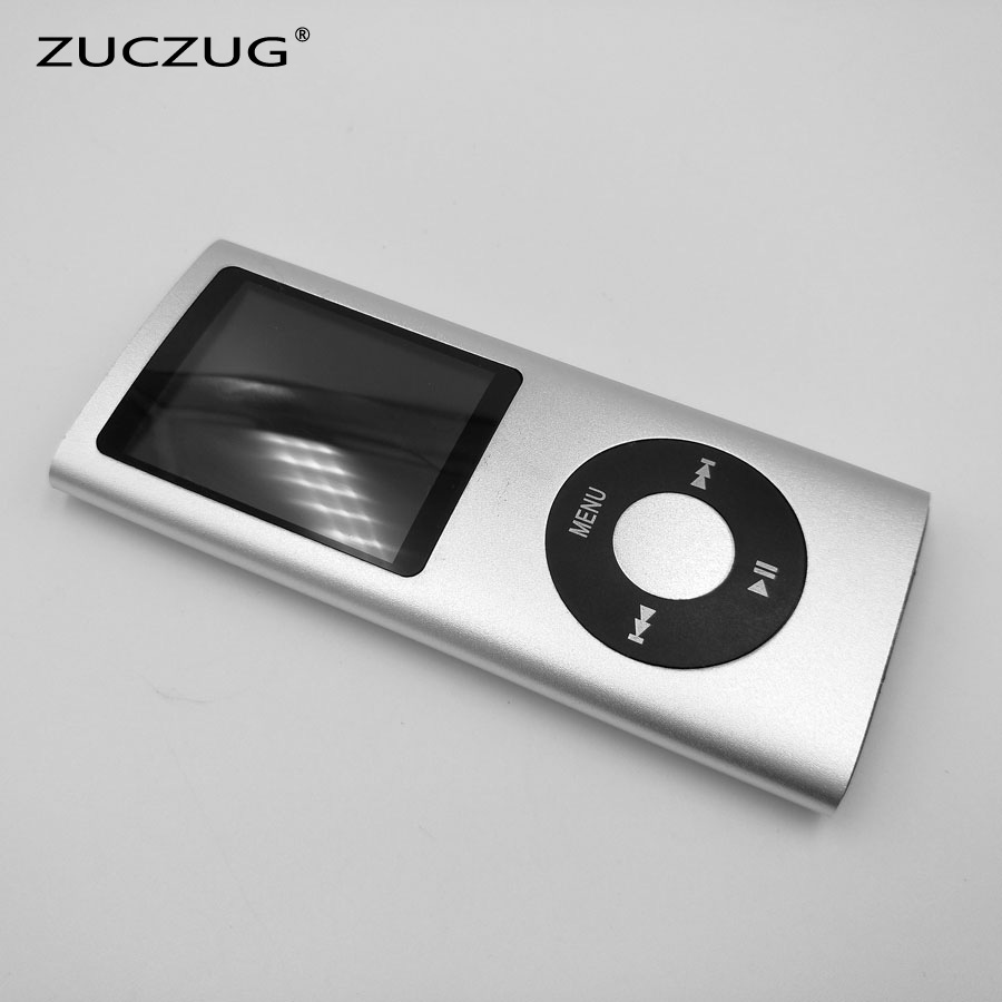 ZUCZUG 4th 1.8 LCD Screen Sport MP3 player Built-in memory 16Gb 32Gb Video FM Radio Music MP3 Player green for ipod nano3 3th generation 32gb fm video e book with film mp3 5 music player free ship a variety of language