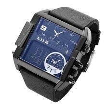 6,11 Männer der Armbanduhr Luxus Marke Quarz Stunde Analog LED Sport Uhren Armee uhr Military Relogio Masculino