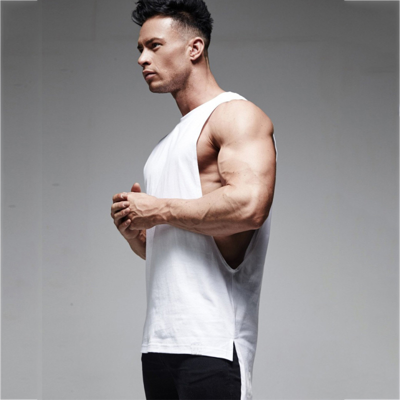 fashion Men sport Vest  gym Tank Top (9)