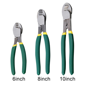 Wire Cutter Hand Tool High Carbon Steel Mini Pliers Cable Nipper Labor Saving Home Use Manual