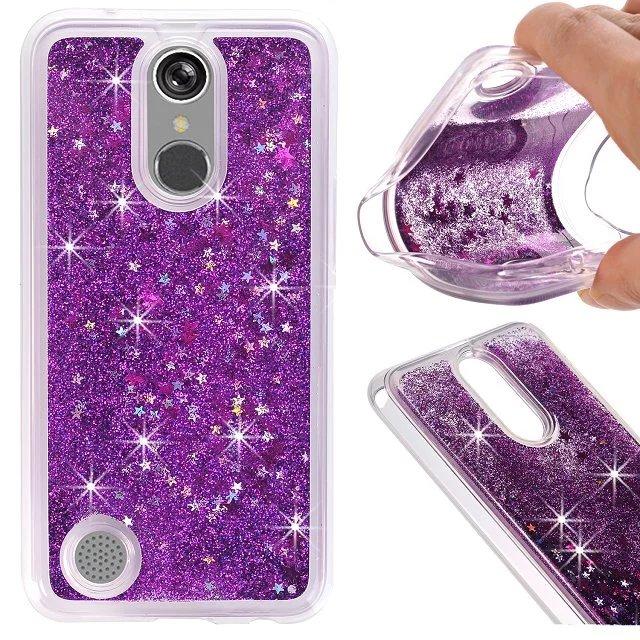 buy popular eb1a2 e0f46 US $8.0 |For LG K10 2017/ K20 plus soft sillicone glitter clear case  customized phone cover for LG K20 plus / K10 2017/ For LG V5-in Fitted  Cases from ...