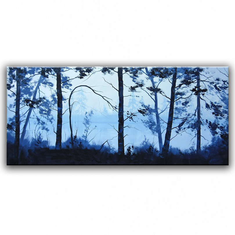 100% hand painted oil painting Home decoration high quality landscape  painting pictures     DM16071938