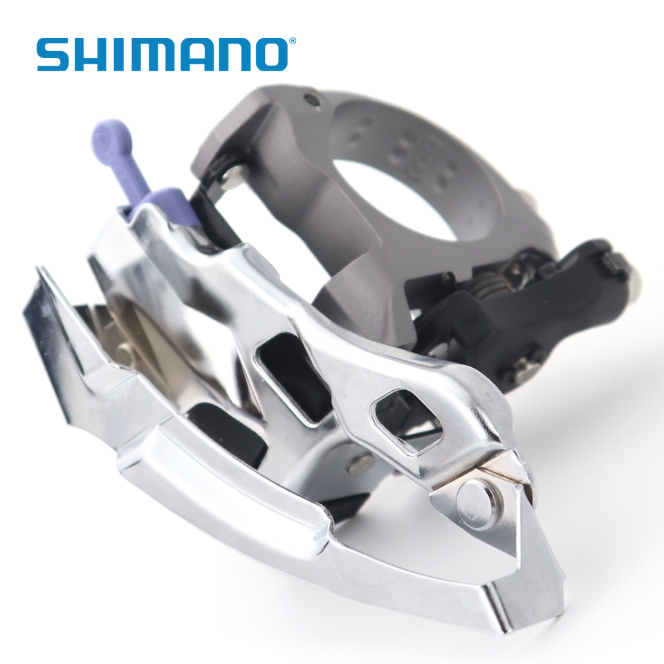 シマノ Deore LX FD T670 6 3x10s トップスイングフロントディレイラー MTB 自転車フロントディレイラーマウンテン自転車部品 -