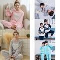 New Flannel Pajama Children Women Coral Fleece Nighties Girl Boy Homewear Cartoon Pajamas Lounge Flannel Children Sleepwears 292