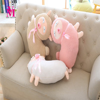 Sheep Pillow Soft Cushion At Home Decorate Baby Birthday Gift 1 Piece Pink White Brown New