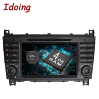 Idoing Android6 0 2G RAM 32G ROM 8Core 2Din For Mercedes Benz W209 203 Car DVD