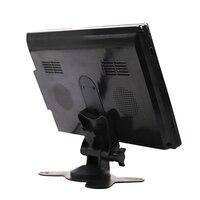 10.1 Inch 1024x600 Desktop Car Reverse Backup Rearview TFT LCD Display 2 AV Video Input TV 7 inch AV Monitor