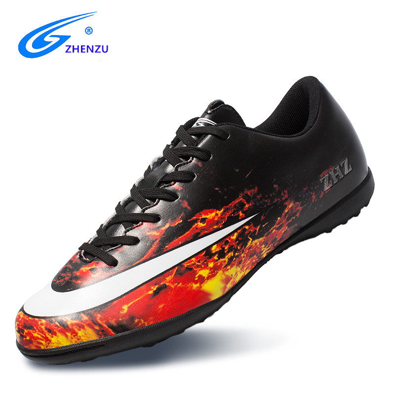 ZHENZU Professional futbol Superfly Football Boots Kids Boys Girls Child Soccer Shoes Sneakers voetbal chaussure de footZHENZU Professional futbol Superfly Football Boots Kids Boys Girls Child Soccer Shoes Sneakers voetbal chaussure de foot