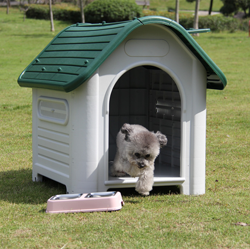 Plastic Large Dog House Kennel Large Luxury Pet House