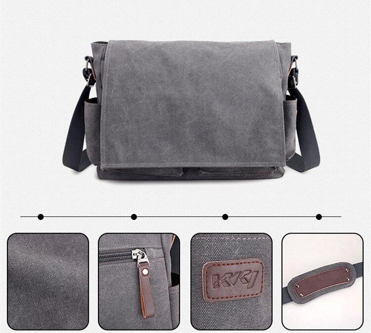HTB1W3OmbvjsK1Rjy1Xaq6zispXab 2019 Brand Designer Men's Briefcase Canvas Crossbody Bags for men 14 Inch Laptop Shoulder Bags Buisness Office Men Messenger Bag