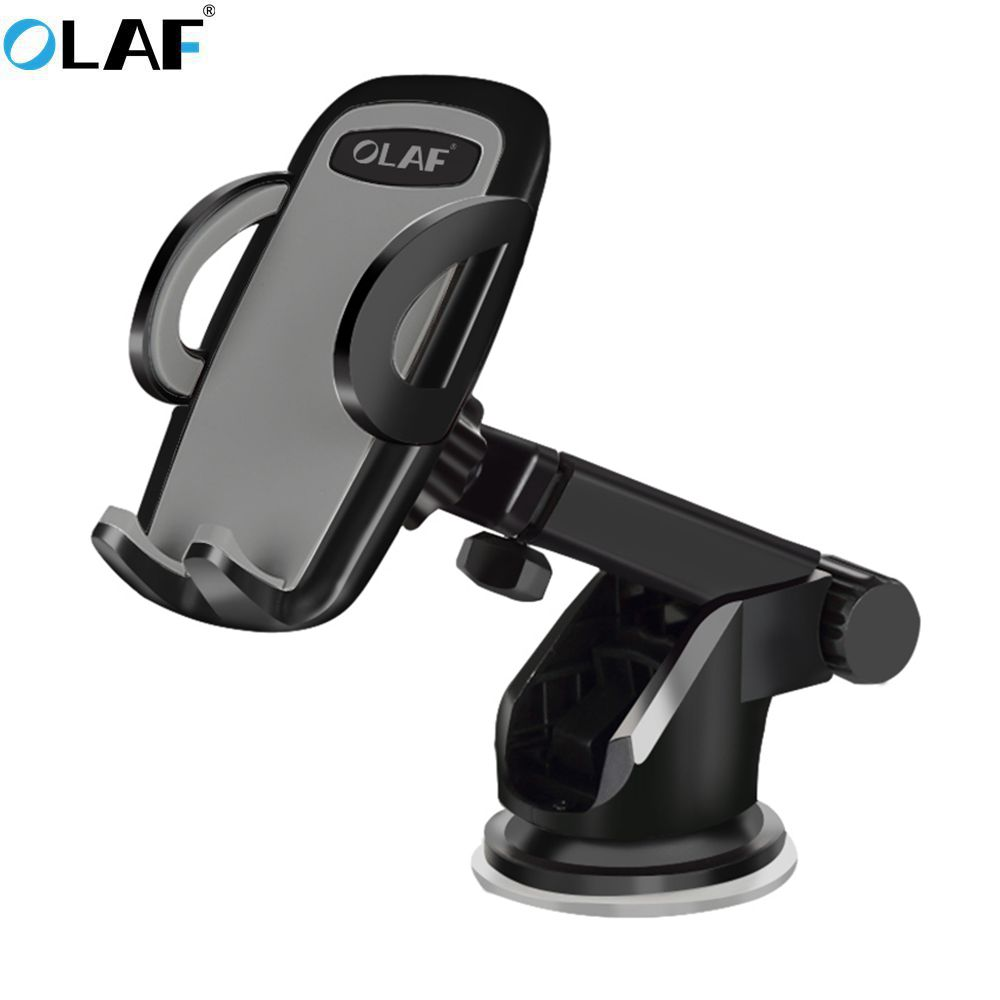 OLAF Windshield Mount Car Phone Holder in Car For Samsung S9 S8 Plus 360 Rotation Car Holder For iPhone X Phone Stand Support