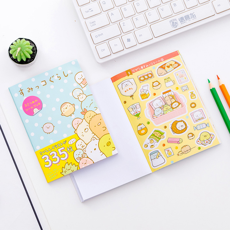 1 Paket Nette Sumikko Gurashi Klebstoff Diy Aufkleber Stick Label Notebook Album Decor Stamm Aufkleber Schule Büro Liefern Den Menschen In Ihrem TäGlichen Leben Mehr Komfort Bringen