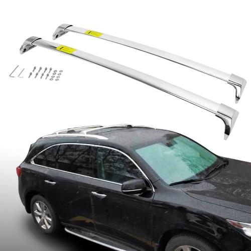 Luggage Roof Rack Rails for Acura RDX 2012-2018 Bar Baggage Aluminum