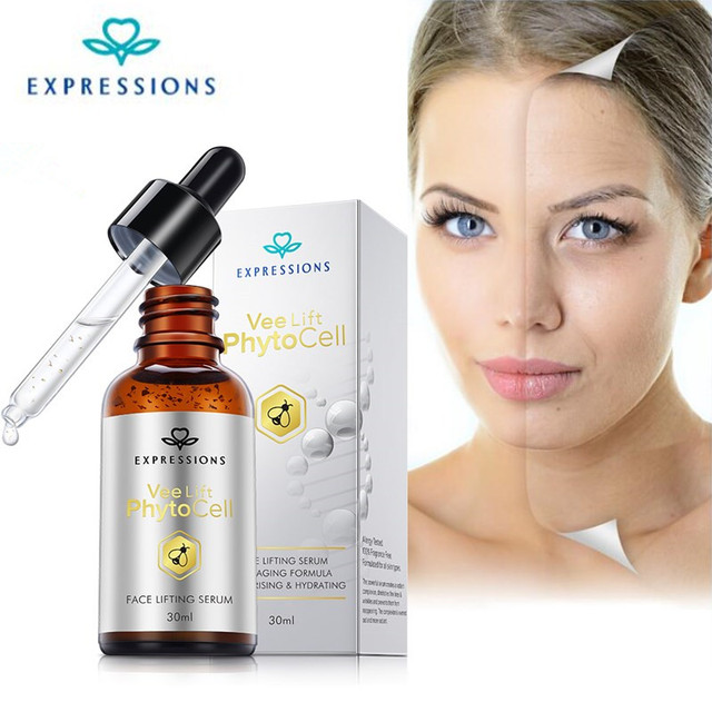 Phyto Cell Face Lift Serum Anti-Aging Moisturizing Hyaluronic Acid Essences Serum Treatment Facial Instantly Anti Wrinkle Aging