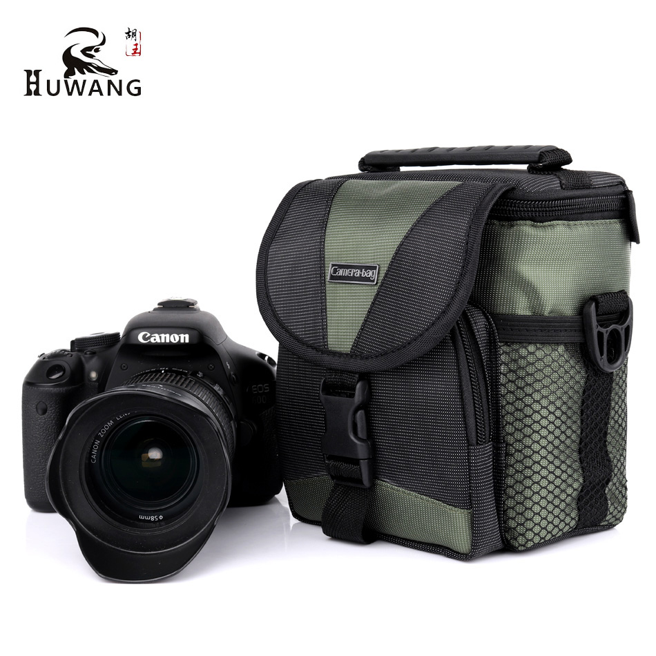 HUWANG 2018 New Thicken Camera Case Bag Backpack For Panasonic Lumix GF9 LX100 GX7 Canon EOS M3 M2 Sony Alpha RX100 Shoulder Bag
