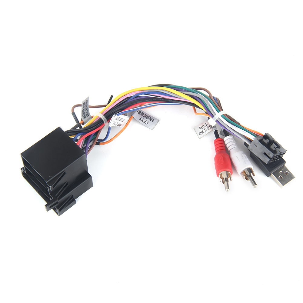 US $15.0 |Dasaita DYX007 Car Stereo Radio Wire Harness Adapter for on