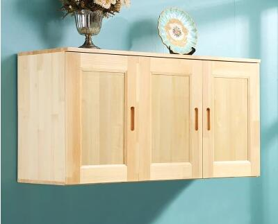 Bathroom kitchen ark of real wood hanging wall ark receives a cabinet ~  Best Seller July 2019